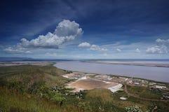 Pięć rzek punkt obserwacyjny, Wyndham, Australia. fotografia stock