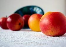Pięć słodkich jabłek Obrazy Royalty Free