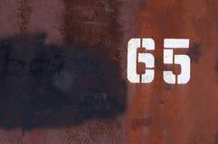 pięć sześć Zdjęcie Stock