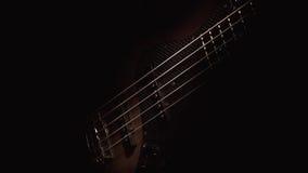 Pięć sznurków Basowa gitara Zdjęcia Stock