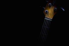 Pięć sznurków Basowa gitara Zdjęcie Royalty Free