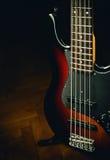 Pięć sznurków jazzu bas Zdjęcia Stock