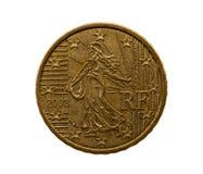 Pięćdziesiąt euro centów Obrazy Stock
