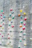 pięcie sztuczna ściana Zdjęcie Royalty Free
