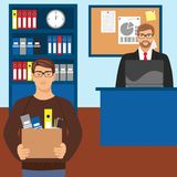 Pięcioliniowy rekrutacyjny poczęcie Wznawia na ekranie laptop i kobieta za nim Obraz Stock