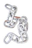 piękną łańcuszkowej formie wymiarowej ilustracyjny metal trzy bardzo Zdjęcie Stock