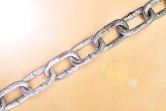 piękną łańcuszkowej formie wymiarowej ilustracyjny metal trzy bardzo Zdjęcia Royalty Free