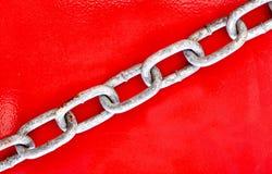 piękną łańcuszkowej formie wymiarowej ilustracyjny metal trzy bardzo Obraz Royalty Free