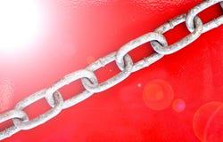 piękną łańcuszkowej formie wymiarowej ilustracyjny metal trzy bardzo Zdjęcie Royalty Free