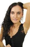 piękną brunetkę Fotografia Stock