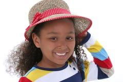 piękną dziewczynę czapkę młode lata Zdjęcie Royalty Free