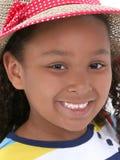 piękną dziewczynę czapkę młode lata Zdjęcie Stock