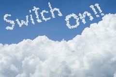 piękną niebieski chmury scenerii nieba pokojowego cicho white słoneczny dzień cloudscape zamyka w górę chmury tekst zmiana dalej  Zdjęcie Royalty Free