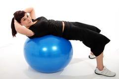 piękna ćwiczenia sprawności fizycznej dziewczyna Obraz Royalty Free
