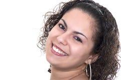 Piękna łacińska kobieta zdjęcia stock