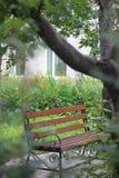 Piękna ławka w parku Obrazy Stock