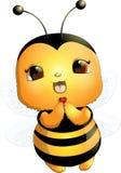 Piękna śliczna pszczoła Obrazy Stock