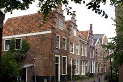 piękna średniowieczna dach street niepowtarzalna Zdjęcia Stock