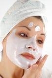 piękna 21 maska Zdjęcia Stock
