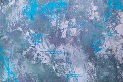 Piękna, abstrakcjonistyczna, jaskrawa tekstura, barwiący tynk, betonowa ściana loft stylowy tło z przestrzenią dla teksta obrazy royalty free