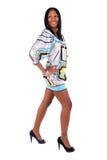piękna afro - amerykański wom Zdjęcie Royalty Free