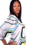 piękna afro - amerykański wom Zdjęcia Stock