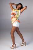 piękna afro - amerykański wom Obrazy Stock