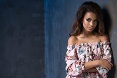 Piękna Afro młoda kobieta Zdjęcie Royalty Free
