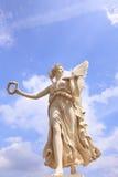 Piękna anioł rzeźba zdjęcia stock