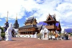 Piękna architektura zakaz meliny świątynia, Tajlandia obrazy stock