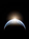 Piękna astronautyczna scena Obraz Royalty Free