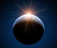 Piękna astronautyczna scena Obrazy Royalty Free
