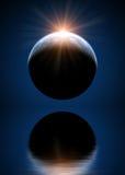 Piękna astronautyczna scena Fotografia Royalty Free