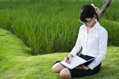 Piękna Azjatycka biznesowa kobieta. zdjęcia royalty free
