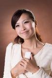 piękna azjatykci się uśmiecha zdjęcie royalty free