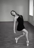 piękna balerina zdjęcie stock