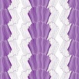 Piękna bezszwowa abstrakcjonistyczna ręka rysujący wzór Zdjęcia Stock