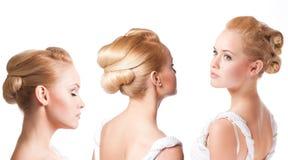 piękna biała kobieta Zdjęcia Royalty Free