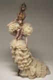 Piękna biała szachowa królowej kobieta Fotografia Stock