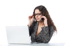 piękna biznesowa kobieta obrazy stock