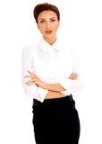 Piękna biznesowa kobieta Zdjęcie Stock