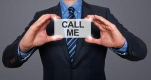 piękna bizneswomanu tła telefon wyizolował mnie młody obrazy royalty free