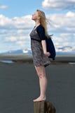 piękna blond dziewczyna Obraz Stock