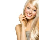 Piękna Blond dziewczyna Obraz Royalty Free