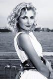 piękna blond dziewczyna Zdjęcie Royalty Free