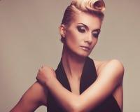 Piękna blond kobieta Zdjęcia Stock