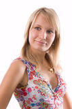 piękna blondynka zdjęcie royalty free