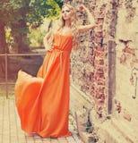 piękna blondynka portret kobiety Fotografia Stock