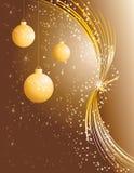 piękna bożych narodzeń dekoracja Zdjęcia Royalty Free