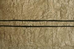 Piękna brown granit ściana Obraz Royalty Free